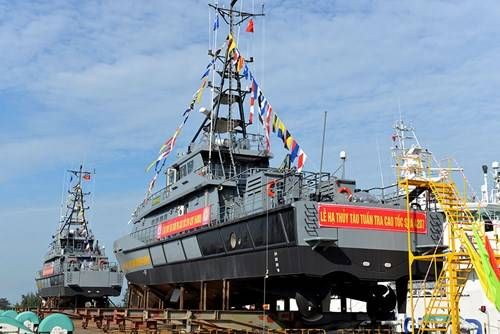 Viet Nam launched two large patrol boats