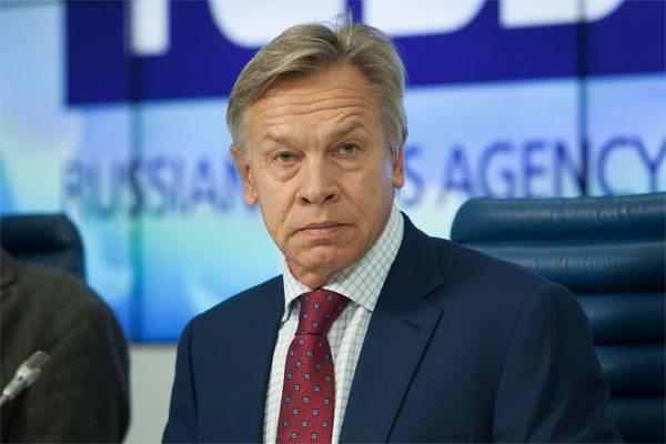 Pushkov - PACE: Exigir el pago de nuestras contribuciones de Ucrania