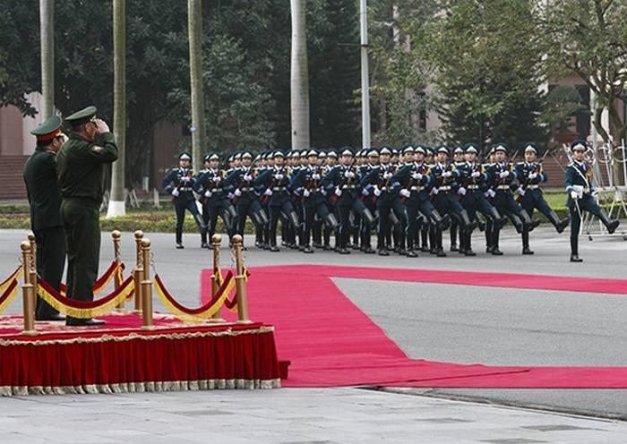 Russland und Vietnam haben einen Plan für gemeinsame militärische Übungen zum 2020-Jahr vorbereitet