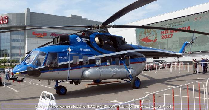 Mi-171А2 helicopters successfully passed tests in extremely low temperatures