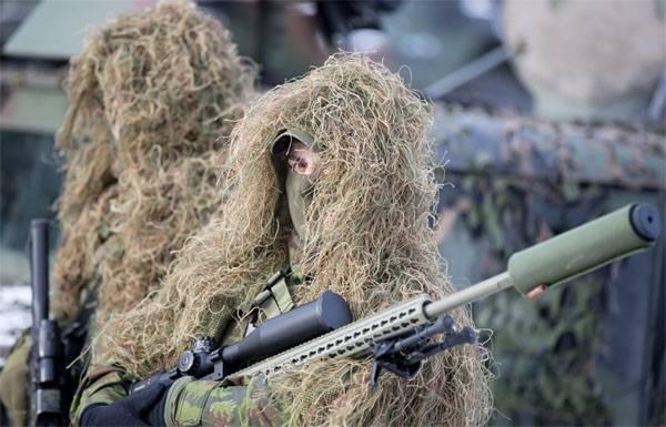 Litvanya ordusu, Almanya'daki NATO tatbikatlarında bir mücadele düzenledi