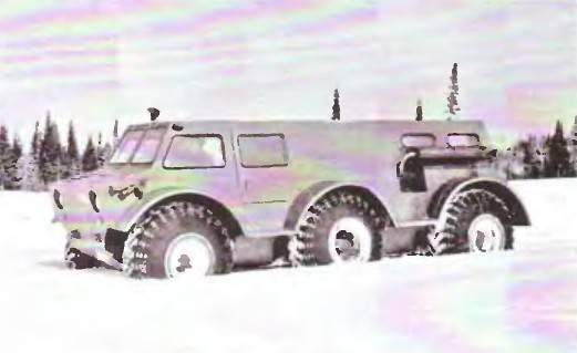 ベテラン全地形対応車ZIL-136