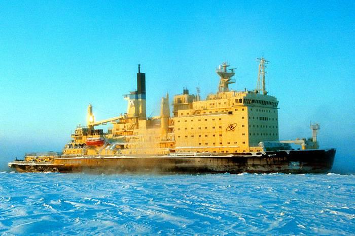 La vita dei rompighiaccio nucleari Vaigach e Taimyr è stata prolungata per altri cinque anni