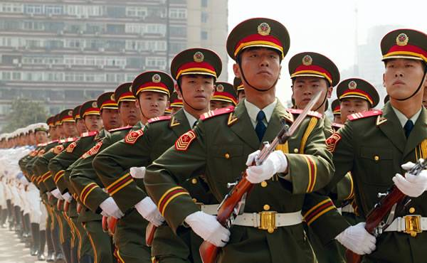 Why does the Middle Kingdom expand its military presence around the world