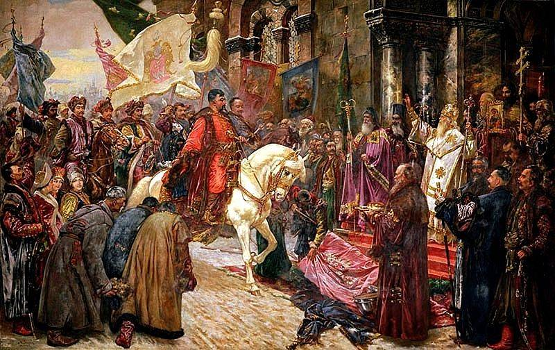 370 years ago, the national liberation war of the Russian people against the Polish invaders began