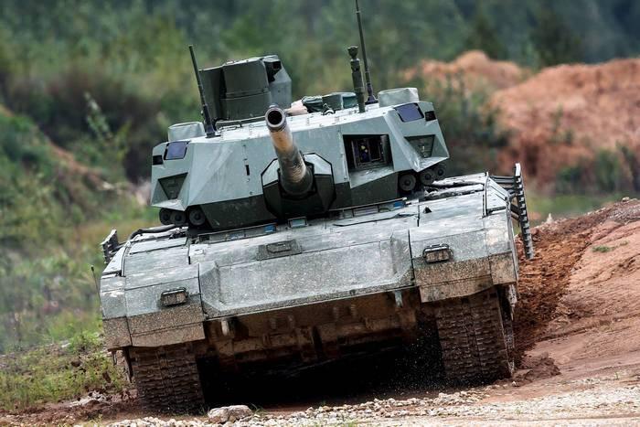 来源:Armata坦克的批量生产将在2020中开始