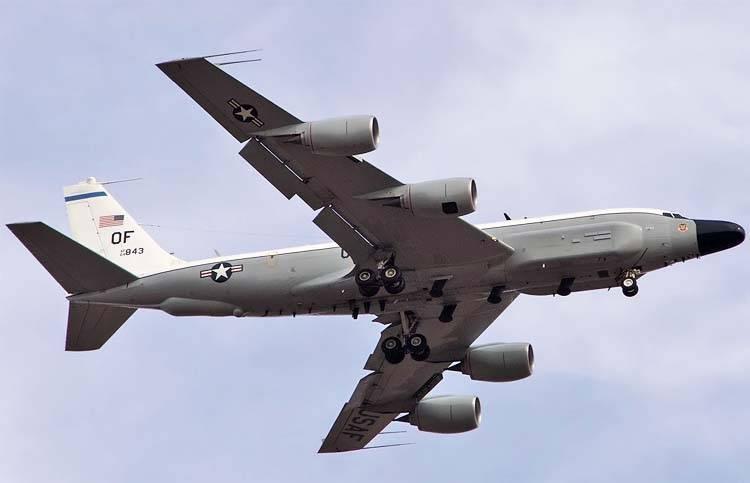 Amerikanische Flugzeuge in der Barentssee erkundet
