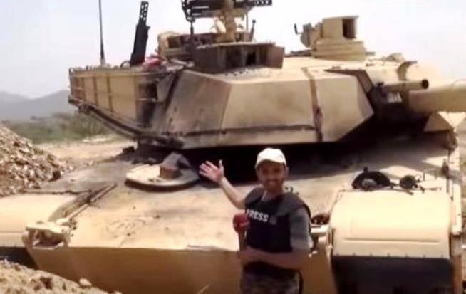 """Abrams""는 예멘에서 다른 탱크보다 더 자주 타다."