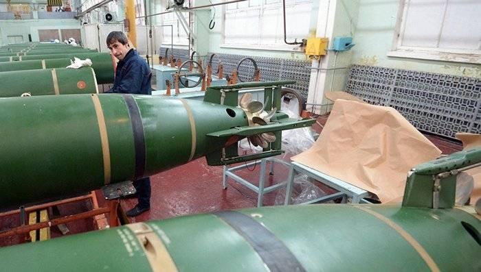 Las pruebas del último torpedo ruso finalizarán en el año 2018.