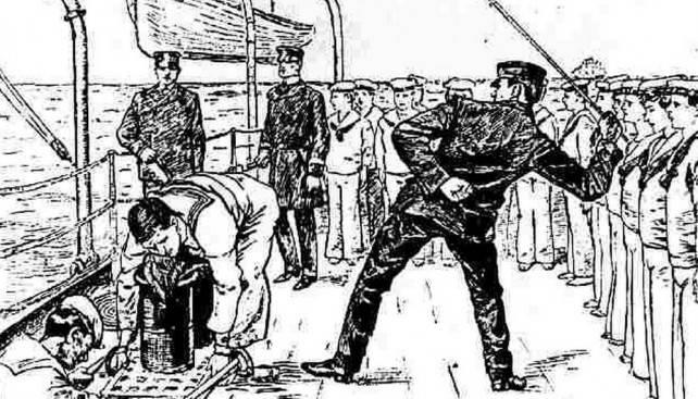 Körperstrafe in der Marine