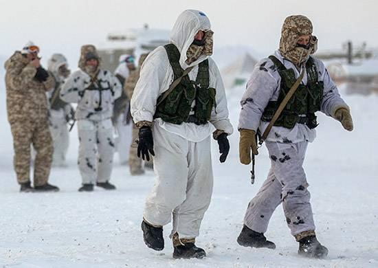 """Los cadetes del tren de especialización """"Ártico"""" en el DVOKU y en menos 40"""