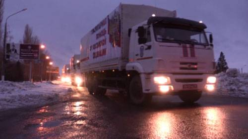 Humanitarian aid from Russia against the backdrop of new Donbass attacks by Ukraine
