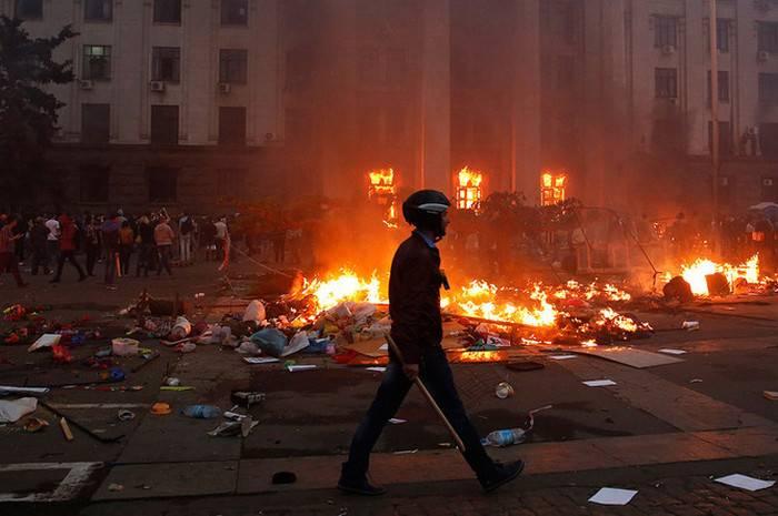 Volker a oublié la tragédie à la Chambre des syndicats à Odessa