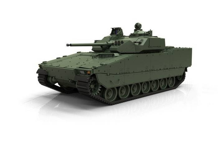 BAE Systems introduced the fifth generation of the CV90 BMP