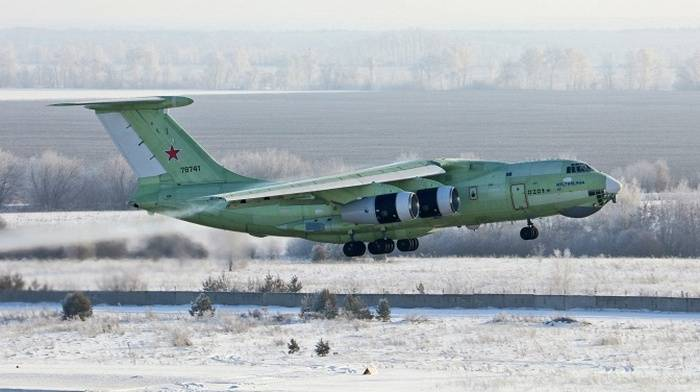 The newest tanker IL-78М-90А made the first flight