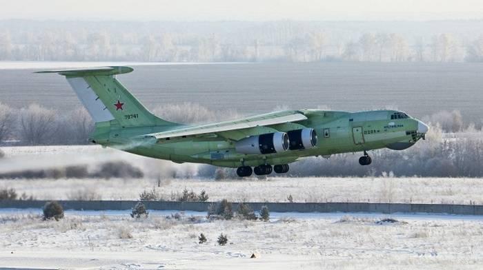 Новейший топливозаправщик Ил-78М-90А совершил первый полет