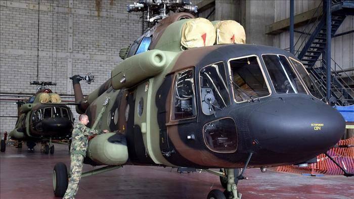Сербия ожидает подписания контракта о покупке шести Ми-17 до конца года