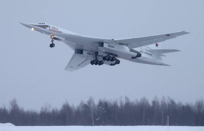 दस Tu-160М2 की आपूर्ति के लिए पहला अनुबंध