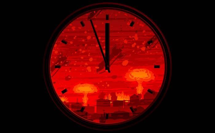 En el reloj del día del juicio final, quedan dos minutos para la medianoche nuclear.