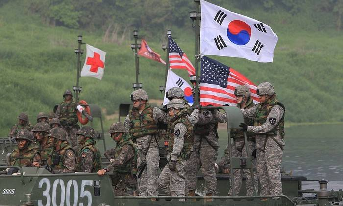 South Korea and the United States will hold joint military maneuvers after the Olympics