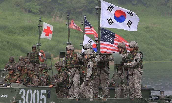 Южная Корея и США проведут совместные военные маневры после Олимпиады