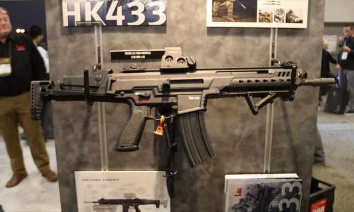 Heckler & Koch официально представила замену штурмовой винтовке G36