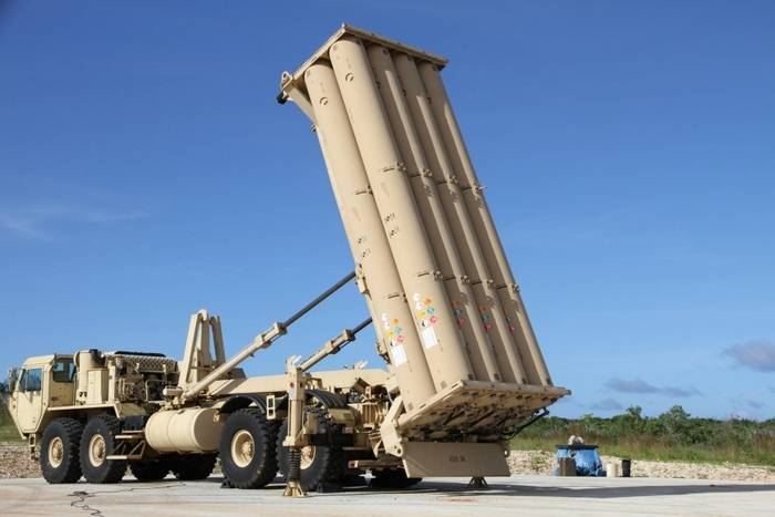 In South Korea, placed all six components of THAAD PRO
