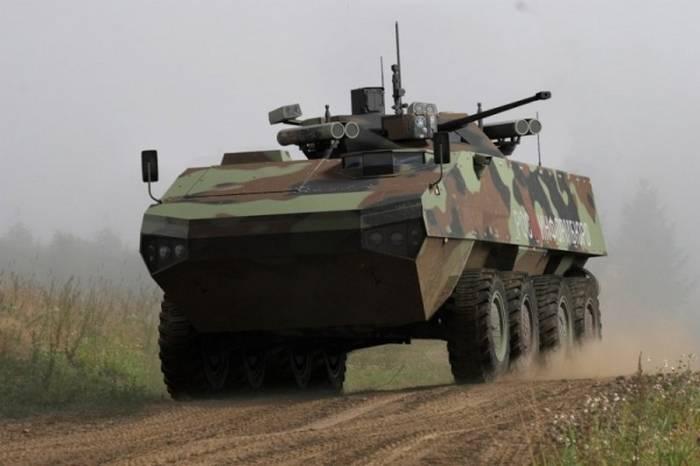 Boomerangプラットフォームの装甲車両は、テスト後に最終決定されます