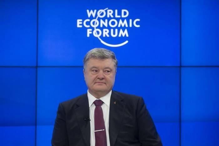 Poroshenko는 블룸버그와의 인터뷰에서 거짓말을했다.