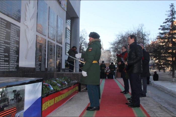 在萨马拉,纪念苏联和俄罗斯的英雄