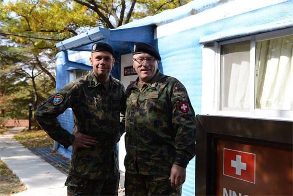 """Wie 10-Truppen aus Schweden und der Schweiz zwei Koreas """"zurückhalten"""""""
