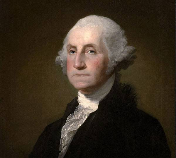 Weekend reading. Americans, repent for the crimes of George Washington! ..