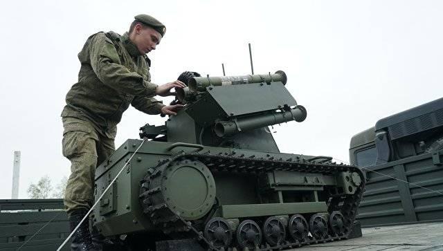 미국 전문가 : 러시아는 무인 전투 시스템 분야에서 미국을 따라 잡고있다.