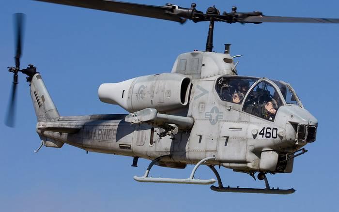 Das japanische Militär entschloss sich, US-Hubschrauber auszuchecken