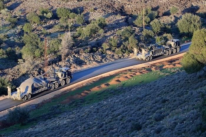 La Turchia ha iniziato a usare gli oblò 203-mm in Siria