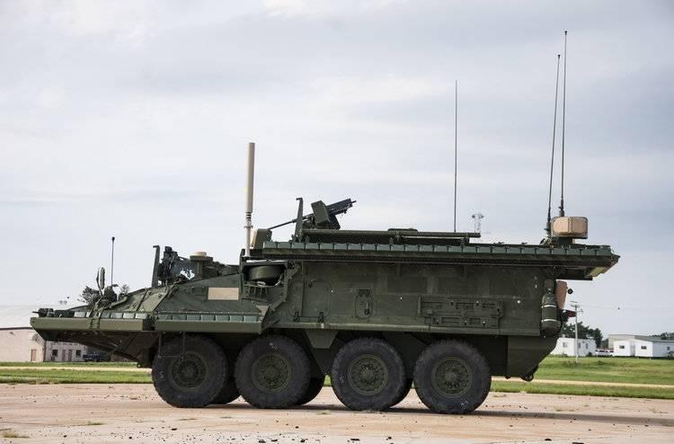 स्ट्राइकर और ब्रैडली अमेरिका में सक्रिय रक्षा उन्नयन कार्यक्रम विफलता