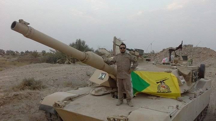 Die USA setzten die technische Unterstützung für Abrams-Panzer im Irak aus