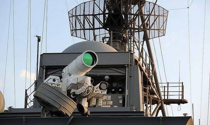 EUA continuarão comprando lasers para a Marinha