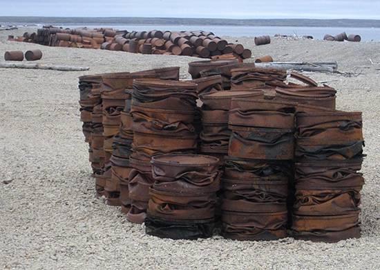 军方计划从远东岛屿出口超过400吨的垃圾
