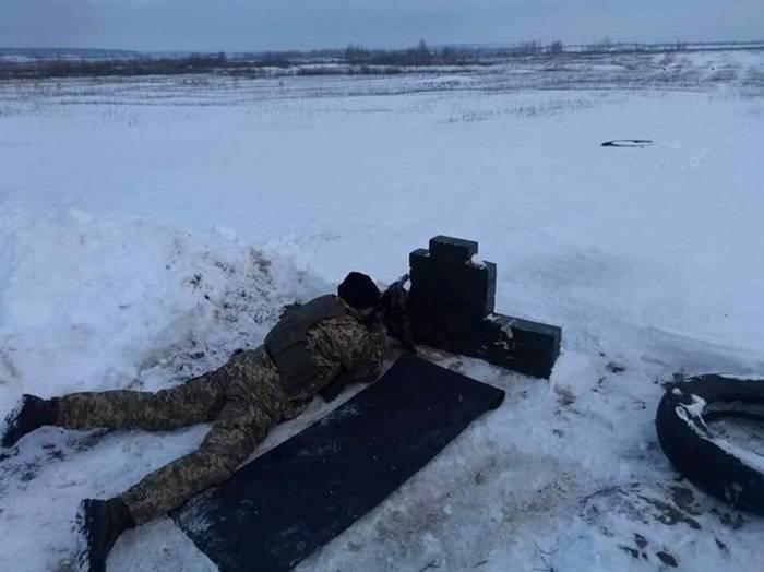 Dans la région de Kharkov en Ukraine a commencé à rassembler des réservistes