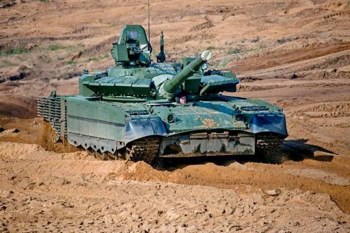 T-80BVM 탱크의 테스트는 2018 시작시에 완료 될 예정입니다.