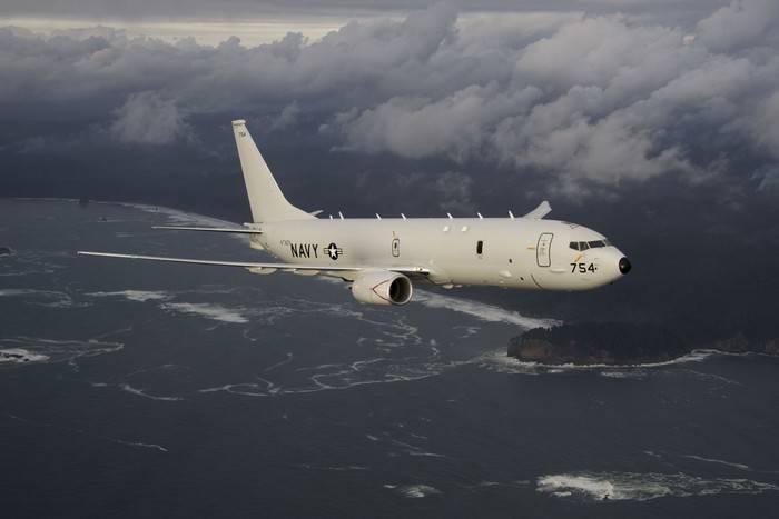 美国飞机在波罗的海南部进行了另一次侦察
