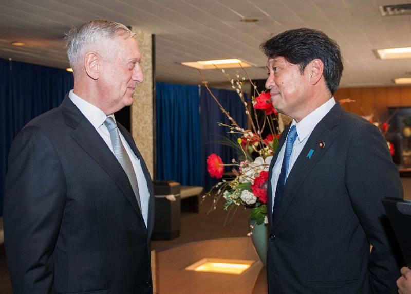 Главы военных ведомств США и Японии обсудили усиление давления на Пхеньян