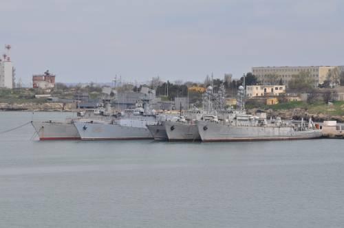 Корабли ВМСУ в Крыму