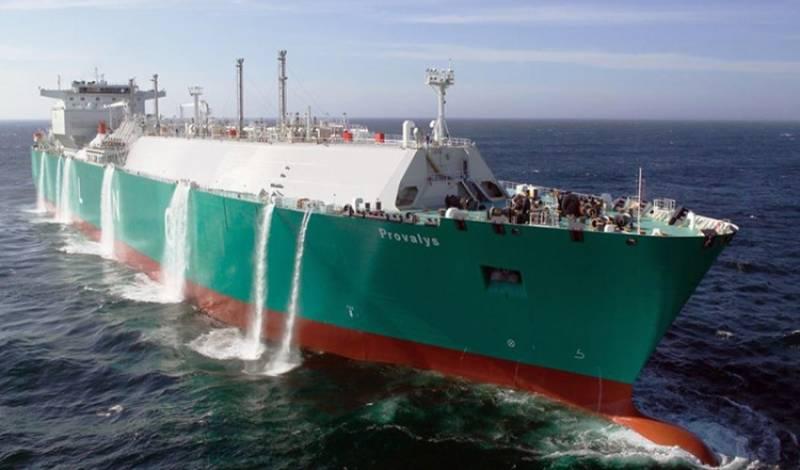 Bloomberg сообщило о втором танкере с российским сжиженным газом для США