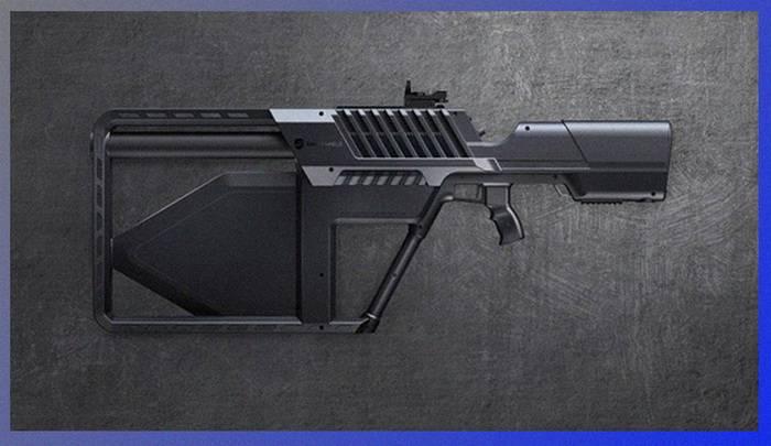 Los australianos presentaron un anti-rifle portátil.