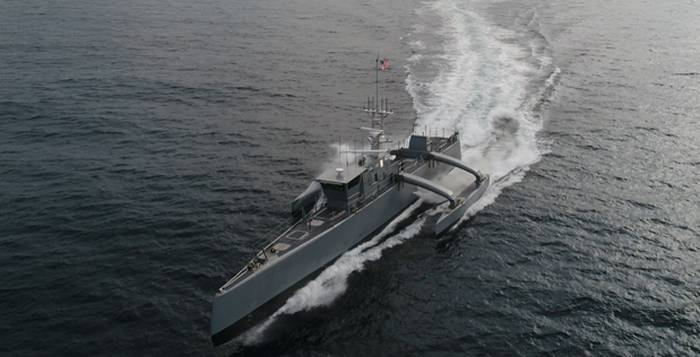 "US Navy received unmanned ""Sea Hunter"""