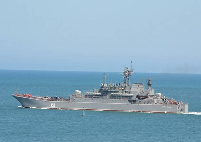 """BDK""""凯撒·库尼科夫""""补给了地中海中队"""