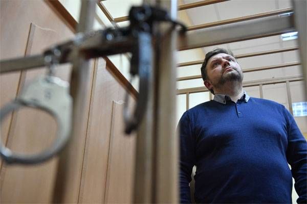 Ex-governor of the Kirov region was sentenced to 8 years of a penal colony for corruption
