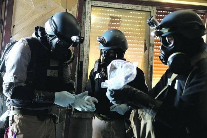 Os Estados Unidos suspeitam de Damasco na produção de novas armas químicas